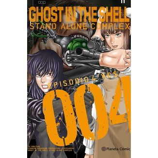 Ghost In The Shell: Stand Alone Complex #04 Manga Oficial Planeta Comic (spanish)