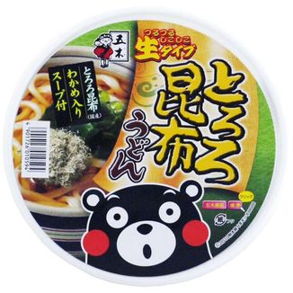 Fideos Udon con Alga Wakame y Caldo de Bonito