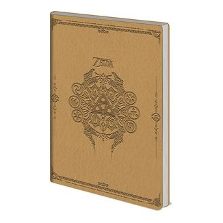 Libreta Flexi-Cover The Legend of Zelda Sage Symbols