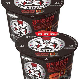 Ramen Noodle Mr. Kimchi Salteado King Cup
