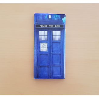Chocolatina TARDIS Doctor Who