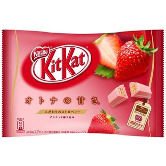 Kit Kat Mini Bag Strawberry flavor