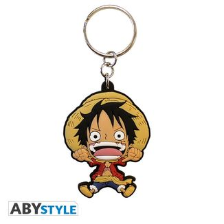Monkey D. Luffy Keychain One Piece