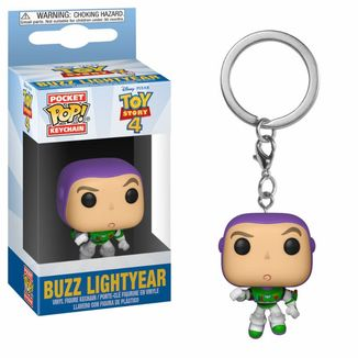 Buzz Lightyear Keychain Toy Story 4 POP!