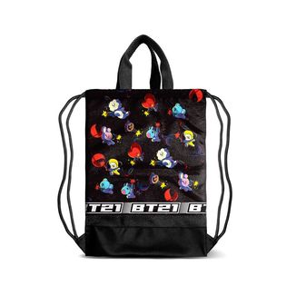 Gym Bag with Handles Squad BT21