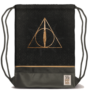 Deathly Hallows Gym Bag Harry Potter