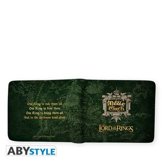 Middle Earth Wallet The Lord Of The Rings