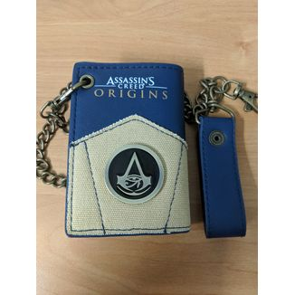 Cartera Assassin's Creed Origins con cadena