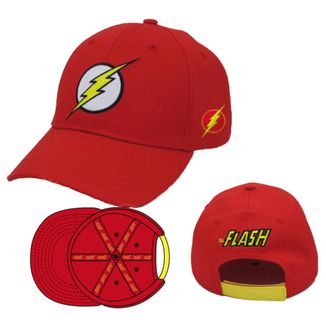 Logo Flash DC Comics Cap