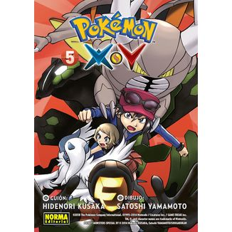 Pokemon X Y #05 Manga Oficial Norma Editorial