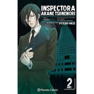 Inspectora Akane Tsunemori PSYCHO PASS #02