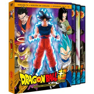 Dragon Ball Super Box 9 Episodios 105-118 DVD