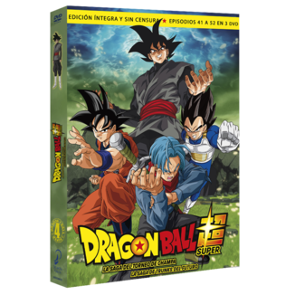 Dragon Ball Super Box 4 DVD