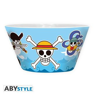 One Piece Bowl Mugiwara Skulls