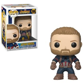 Funko Capitán América - Vengadores: Infinity War Pop!