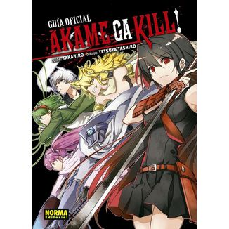 Akame Ga Kill! Guía Oficial Manga Oficial Norma Editorial