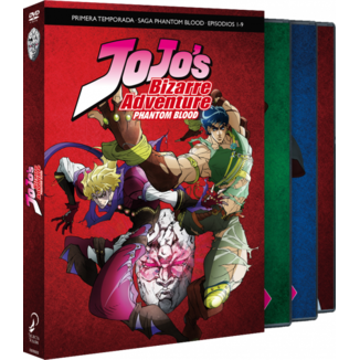 JoJo's Bizarre Adventure Season 1 Phantom Blood Parte 1 DVD