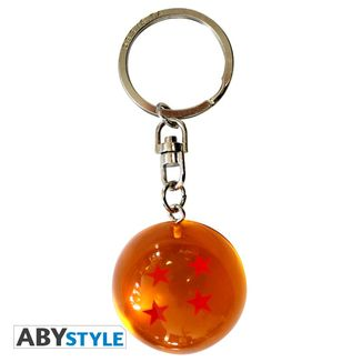 Dragon Ball Keychain Crystal Ball 4 Stars Suu Shinchuu