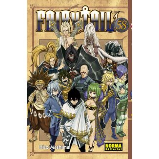 Fairy Tail #58 Manga Oficial Norma Editorial