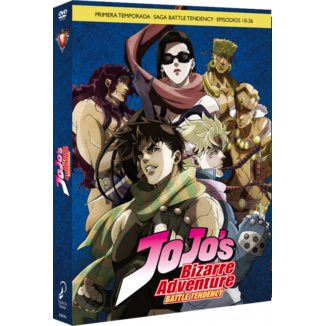 JoJo's Bizarre Adventure Temporada 1 Battle Tendency Parte 2 DVD