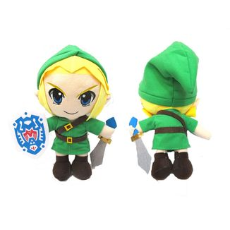 Peluche Link Escudo y Espada - The Legend of Zelda