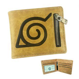 Konoha Leather Wallet Naruto