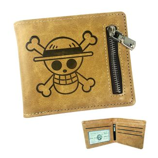Cartera Luffy Skull Leather One Piece