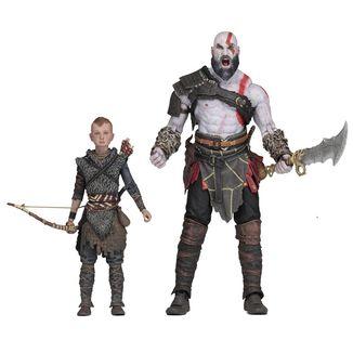 Figura Kratos & Atreus Set God Of War