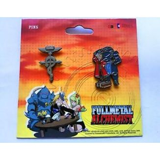 Pins Fullmetal Alchemist set Square