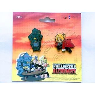 Pins Fullmetal Alchemist set Square 2
