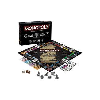 Monopoly edición de coleccionista Juego de Tronos *Inglés*