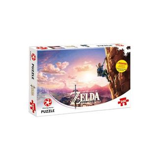 Link over Hyrule - The Legend of Zelda Breath of the Wild Puzzle
