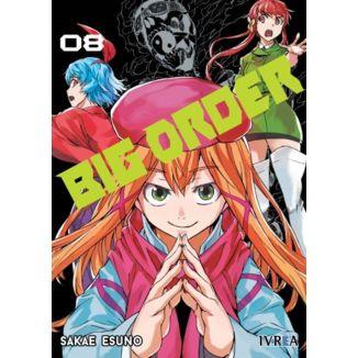 Big Order #08 Manga Oficial Ivrea