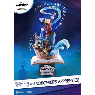 Mickey Beyond Imagination Figure Diorama The Sorcerer's Apprentice D-Stage Disney