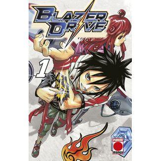 Blazer Drive #01 Manga Oficial Panini Manga