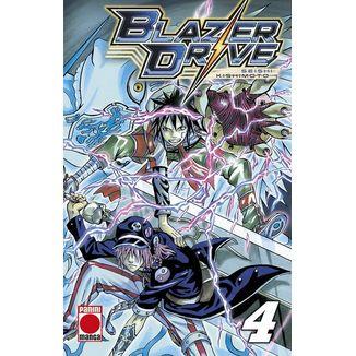 Blazer Drive #04 Manga Oficial Panini Manga