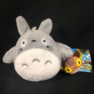 Totoro and Catbus Plush Keychain My Neighbor Totoro