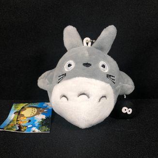 Llavero de Peluche Totoro y Duende Del Polvo Mi Vecino Totoro