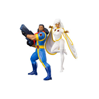 Set de Figuras Bishop & Tormenta X-Men 92 ARTFX+ Marvel Universe