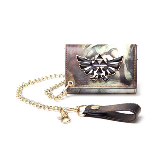 Cartera con cadena The legend of Zelda