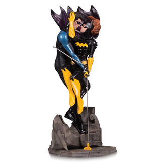 Estatua Nightwing y Batgirl by Ryan Sook DC Designer Series DC Comics
