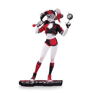 Estatua Harley Quinn by Mingjue Helen Chen DC Comics Red White & Black