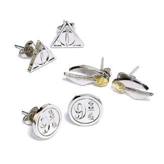 Set Pendientes Harry Potter