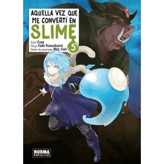 Aquella Vez Que Me Convertí En Slime #05 Manga Oficial Norma Editorial