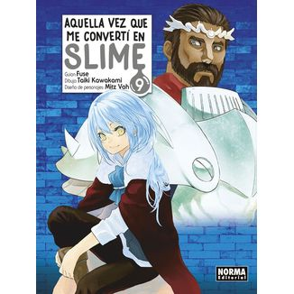 Aquella Vez Que Me Convertí En Slime #09 (spanish) Manga Oficial Norma Editorial