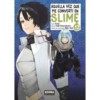 Aquella Vez Que Me Convertí En Slime #12 Manga Oficial Norma Editorial (Spanish)