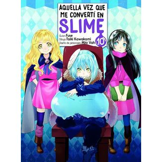 Aquella Vez Que Me Convertí En Slime #10 Manga Oficial Norma Editorial