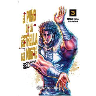 El Puño De La Estrella Del Norte (spanish) #03 Manga Oficial Planeta Comic