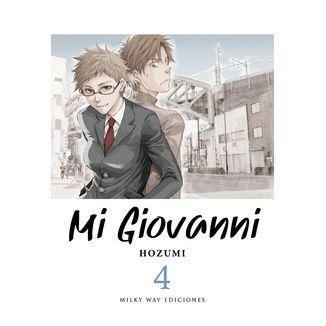 Mi Giovanni (spanish) #04 Manga Oficial Milky Way Ediciones