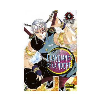 Guardianes De La Noche #09 Manga Oficial Norma Editorial (spanish)